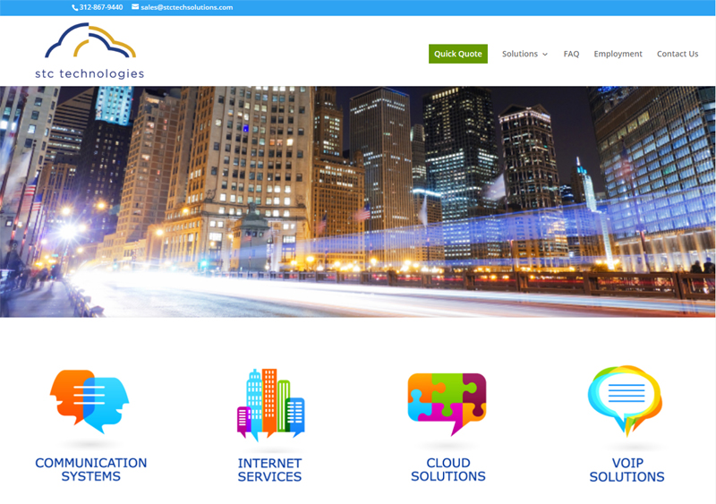 STC Technologies Website Completed