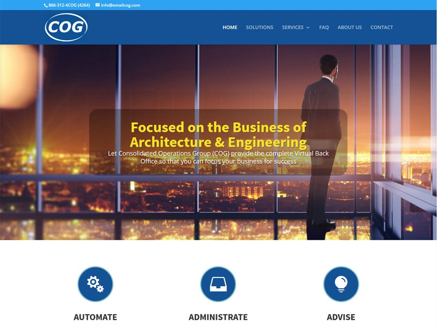 Consolidated Operations Group Website Launched