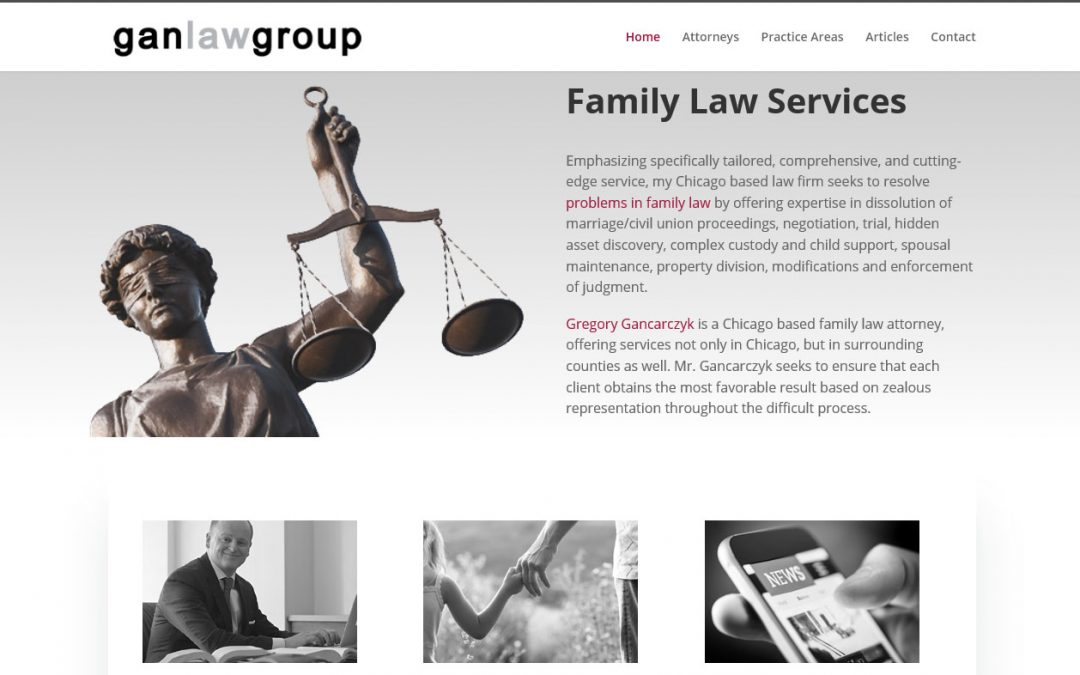 Gan Law Group Website Launched