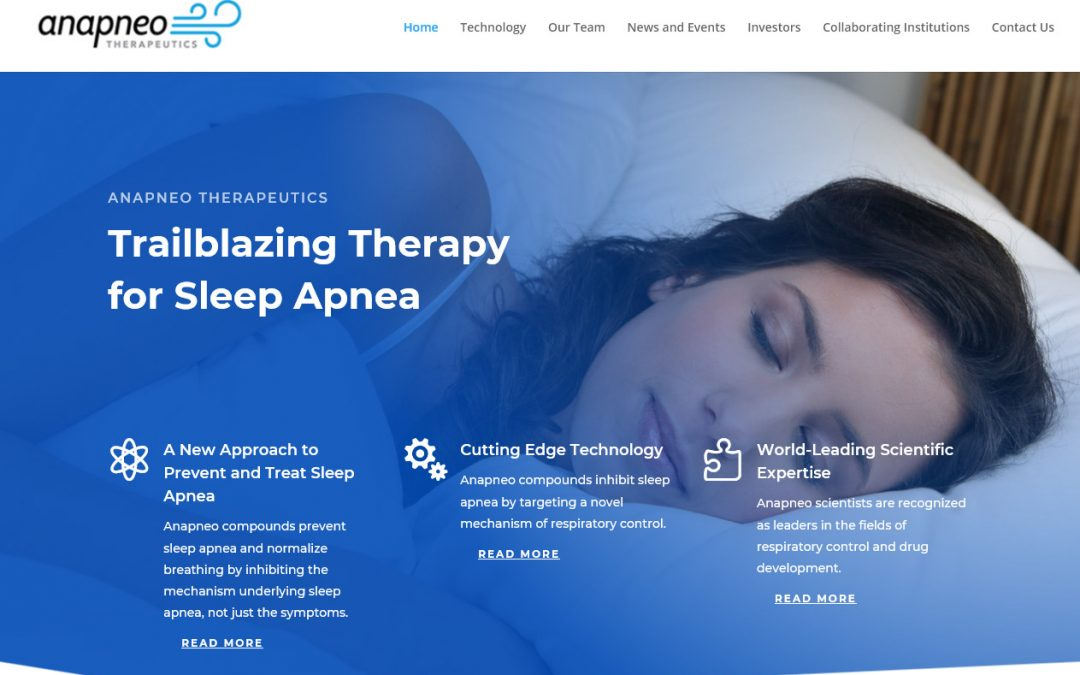 Anapneo Therapeutics Website Launched